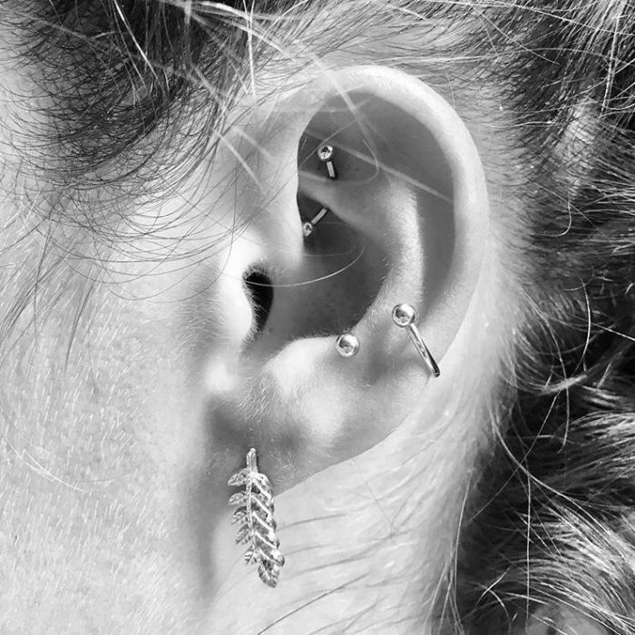 "Piercing oreja ""Conch"""